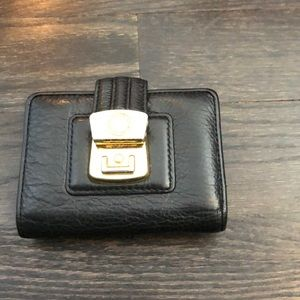 Marc by Marc Jacobs wallet in black leather.